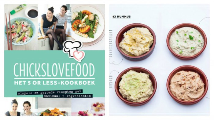 Recensie Chickslovefood 5 or less-kookboek